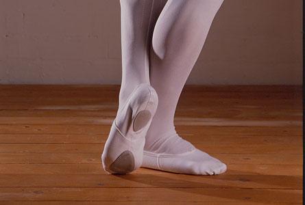 Balletsko med splitsål-0