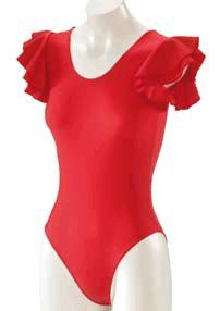 Dansetøj Flamenco m. flæseærmer-926