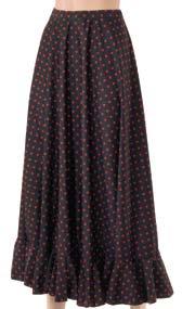 Dansetøj Nederdel med prikker-0