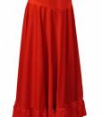 Flamenco nederdel med flæse