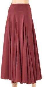 Dansetøj Nederdel med dobbelte kiler-916