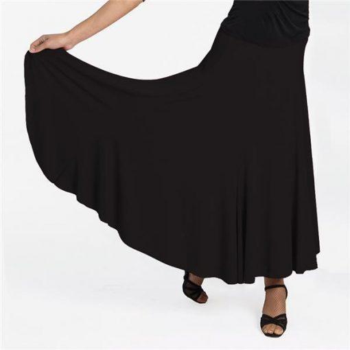 Dansetøj nederdel med svaj
