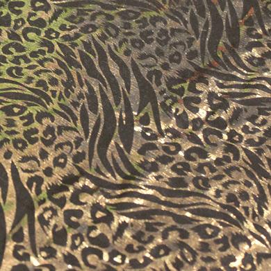 Discostof guld hologram på sort baggrund-0