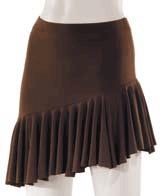 Lårkort nederdel til latindans-0