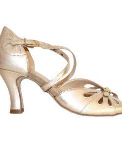 Guld sandal til dans