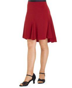 Kort nederdel syet i baner