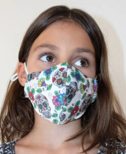 2 lags stofmundbind til børn