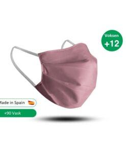 Certificeret mundbind i lyserød