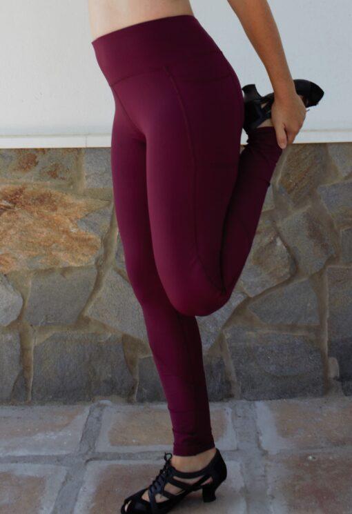 Gamacher med lomme til gymnastik og træning.