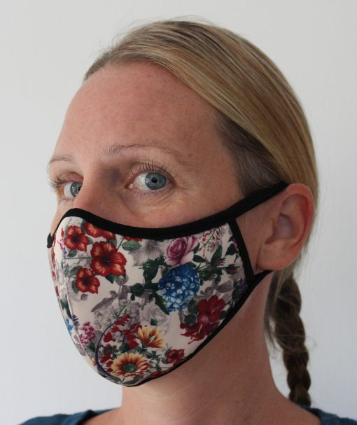 Mundbind i stofder kan genbruges.