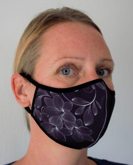 Genanvendeligt mundbind i stof til kvinder