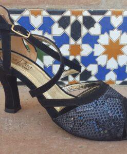 pragtlys højhælet sko